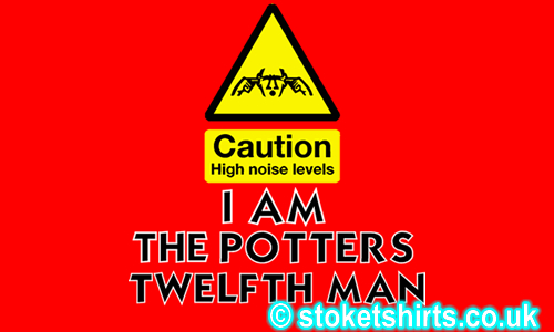 Caution - I am the Potters Twelfth Man