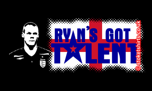 Ryan's Got Talent. Shawcross Future England Star.