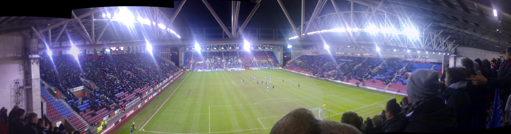 The DW Stadium Wigan vs. Stoke City