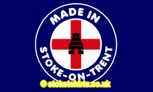 Made in Stoke - on - Trent Kiln England