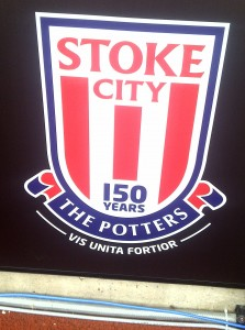 New Stoke City 150 years badge